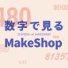 『数字で見るMakeShop』の2017年度版を公開しました!