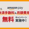 【7/9まで】Amazon Pay導入Wキャンペーン開催中!今がはじめるチャンス!